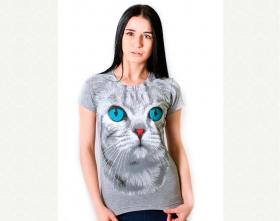 5052 Кошка с голубыми глазами
